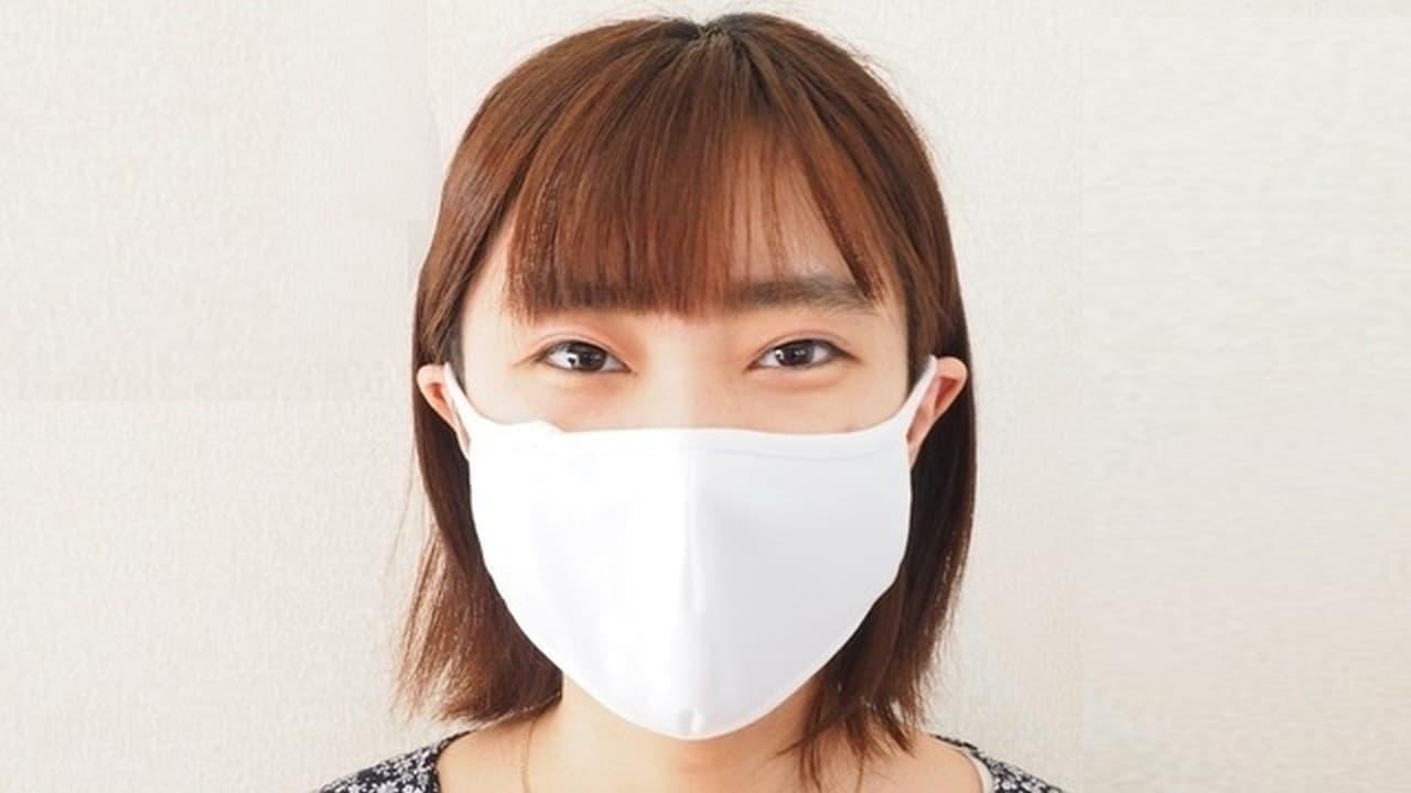 マスク2枚をローテで使用 ― 汗で湿ったマスクを乾かす珪藻土ケースとひや爽マスクのセット