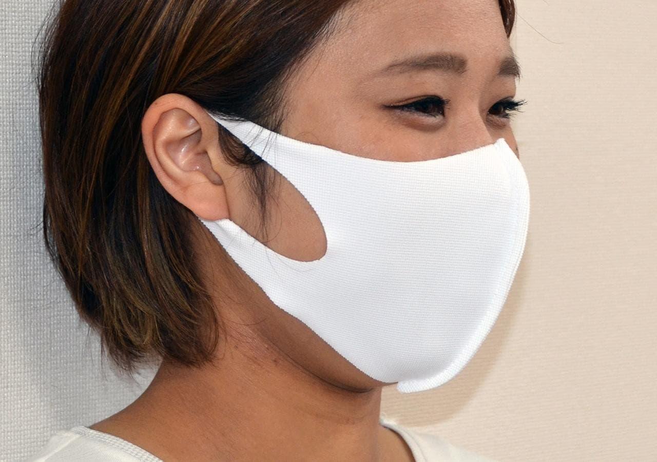 あの「洗えマスク」に「接触冷感」「吸水速乾」「UVカット」の夏用素材