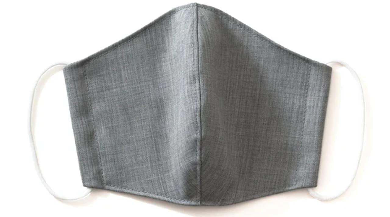 ウール製!なのに蒸れにくい「洗えるウールマスク」 受注の激減した国内工場で縫製