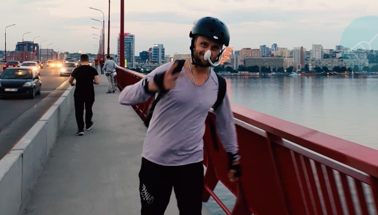 サイクリスト向けの空気清浄機「IWIND」 ― 街を走るときにもきれいな空気を吸いたい