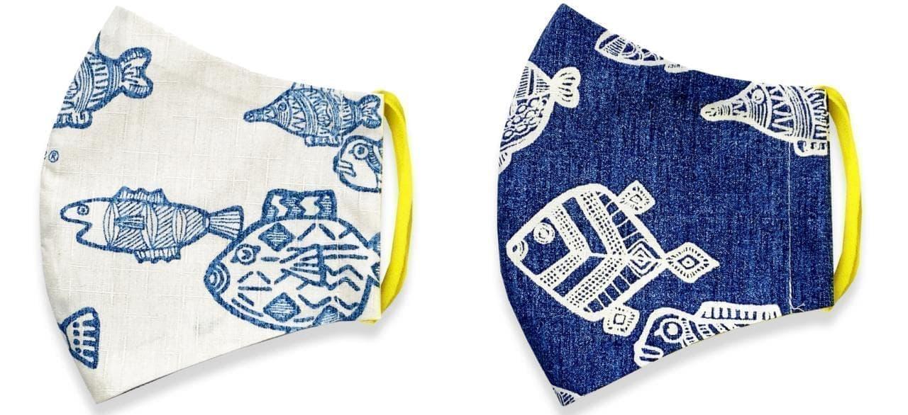 見た目も涼しい夏にぴったりな「沖縄産かりゆしマスク!」発売 ― かりゆしウェアの生地を使い、沖縄のシャツ職人が製造