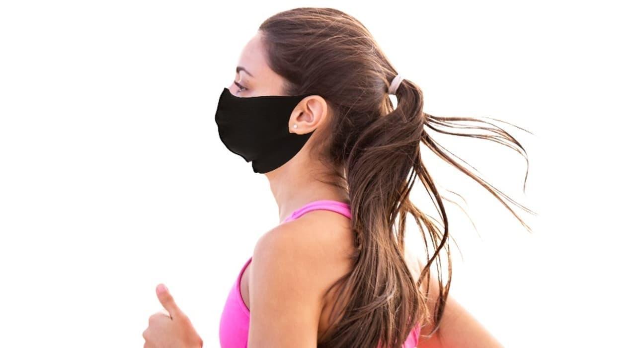 ジョギングにぴったりなマスク「mamoRUNto」 - 極薄素材で飛沫防止と高い通気性を両立