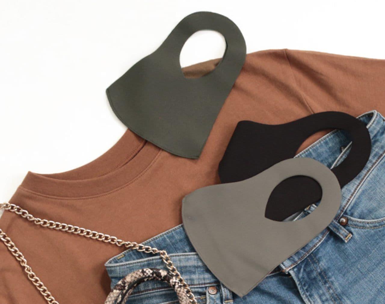 """新品のパンツで製造した""""訳アリ""""マスク 接触冷感素材の「Cool Mask」"""