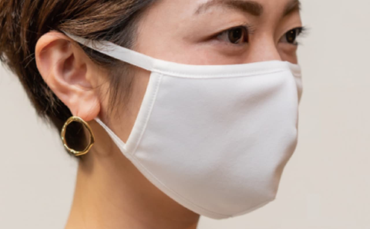 洗濯機で洗えてすぐに乾くマスクに夏用の「Ms Mask relax」― スゴム紐の伸縮性を約3倍に