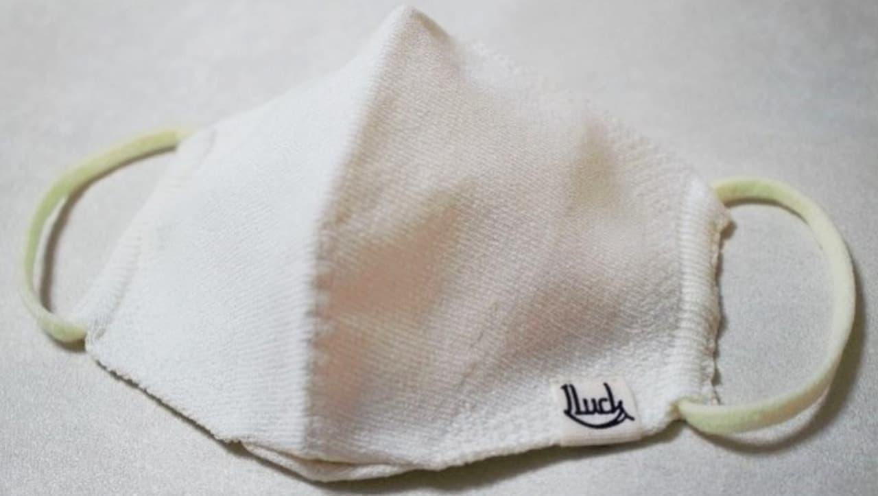接触冷感マスク「OneLuck×suadeo 和紙ニットマスク」