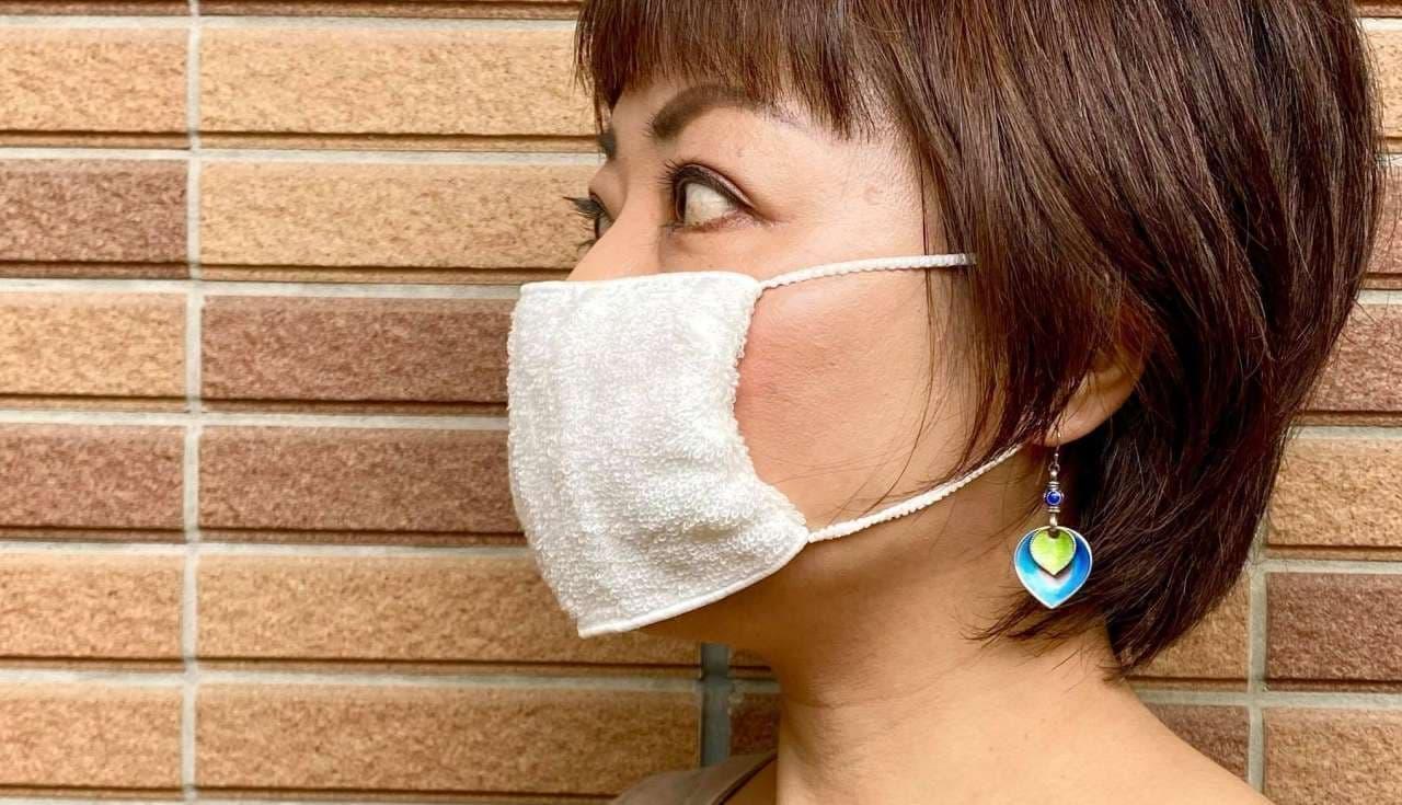 今治タオルをマスクに! - 銅繊維を使用した「マスクにもなるタオルハンカチ」IKEUCHI ORGANICが発売