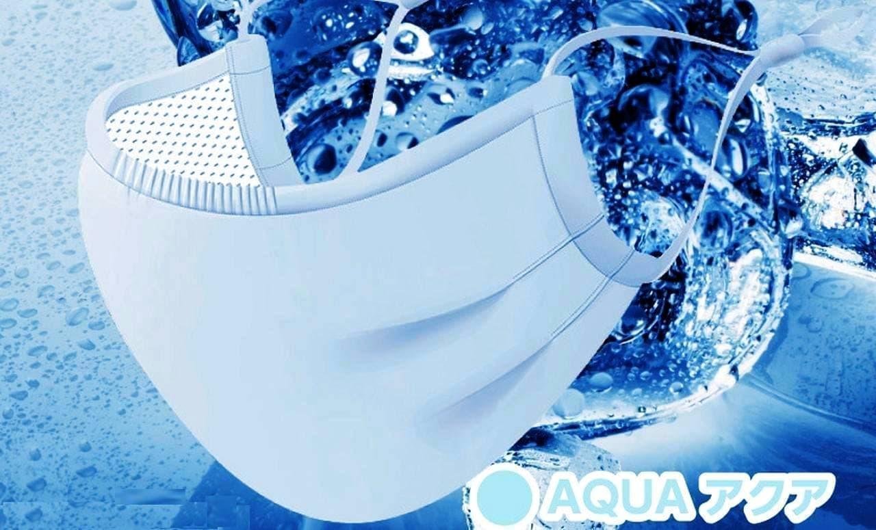 夏用冷感マスク「超立体COLD MASK」に夏に向けたさわやかな新色追加 - 「SAKUR」「AQUA」「MINT」「LAVENDER」