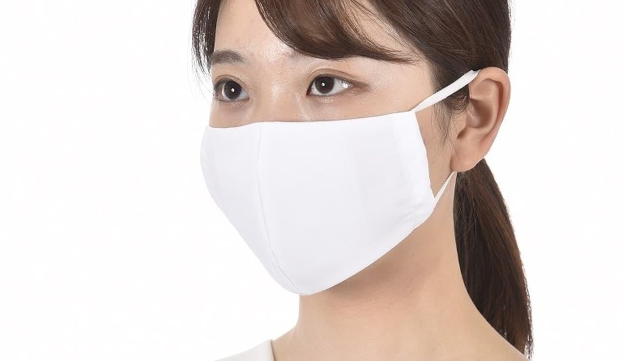 福助が足袋工場で製造した立体マスク「足袋職人がつくったマスク」