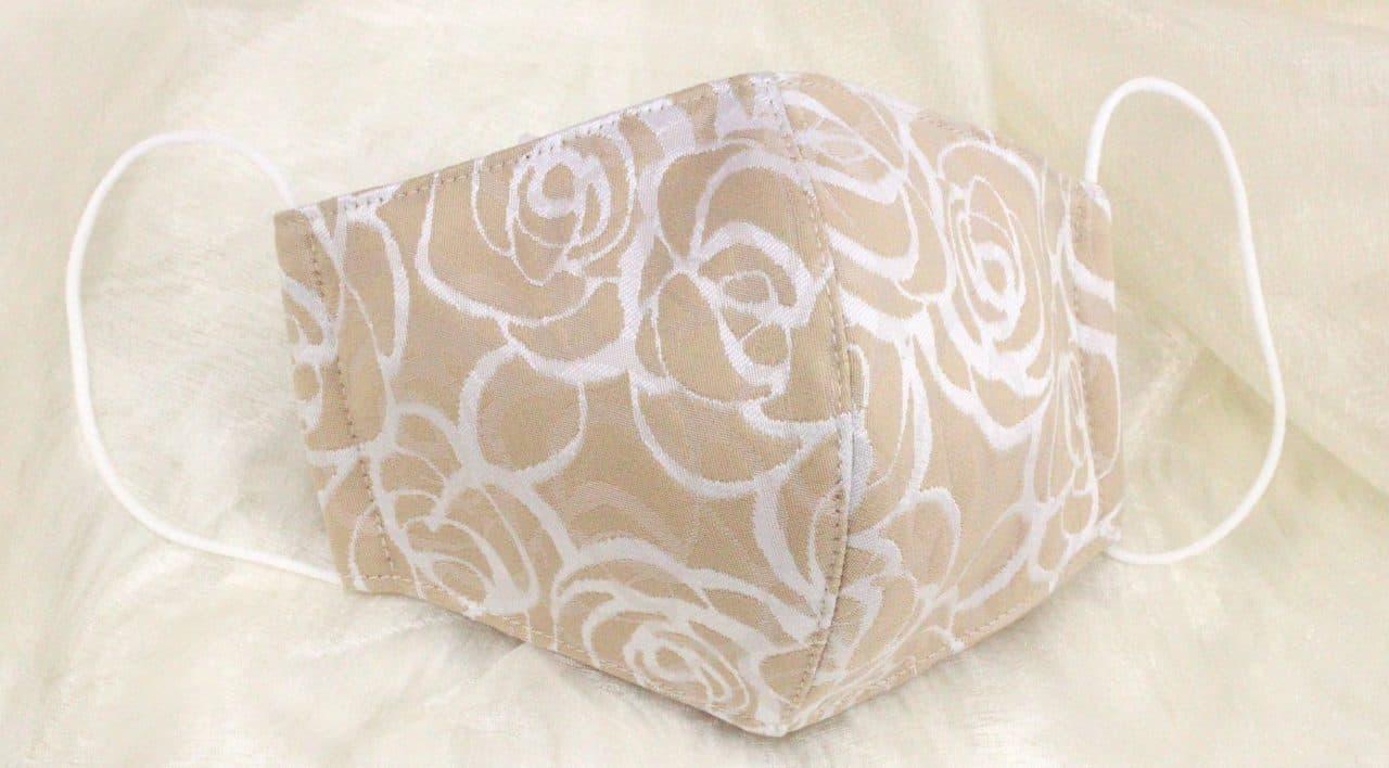 京都の西陣織メーカーが作った西陣織マスク