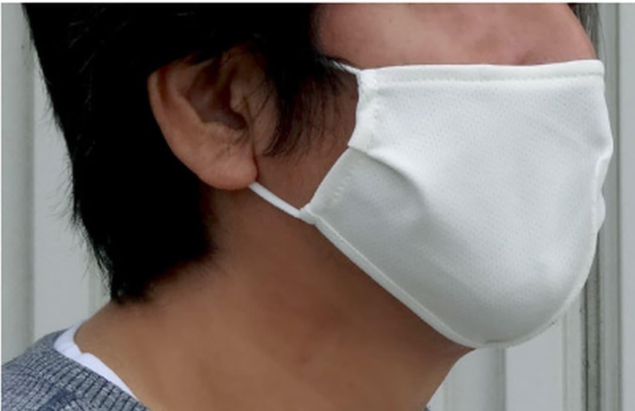 2層式 洗えるマスク