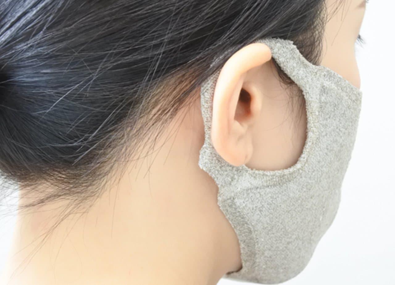 機能性も高い「100回洗える夏マスク hamon AGマスク」