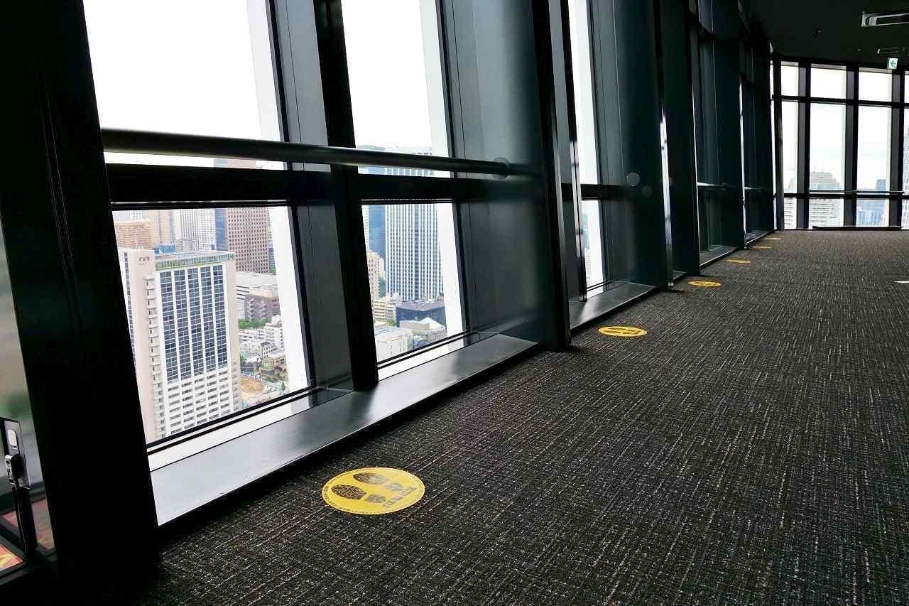 「オープンエア外階段ウォーク」コース