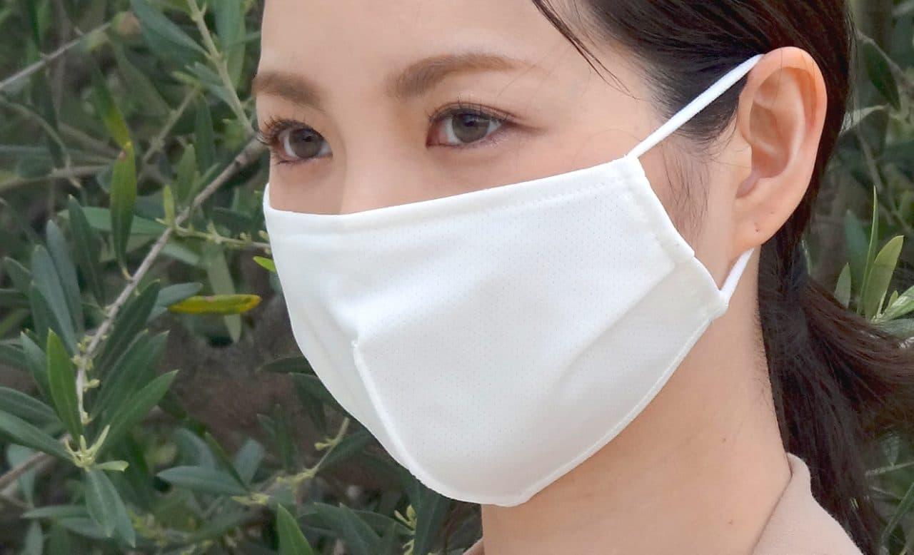 2層式洗えるマスク