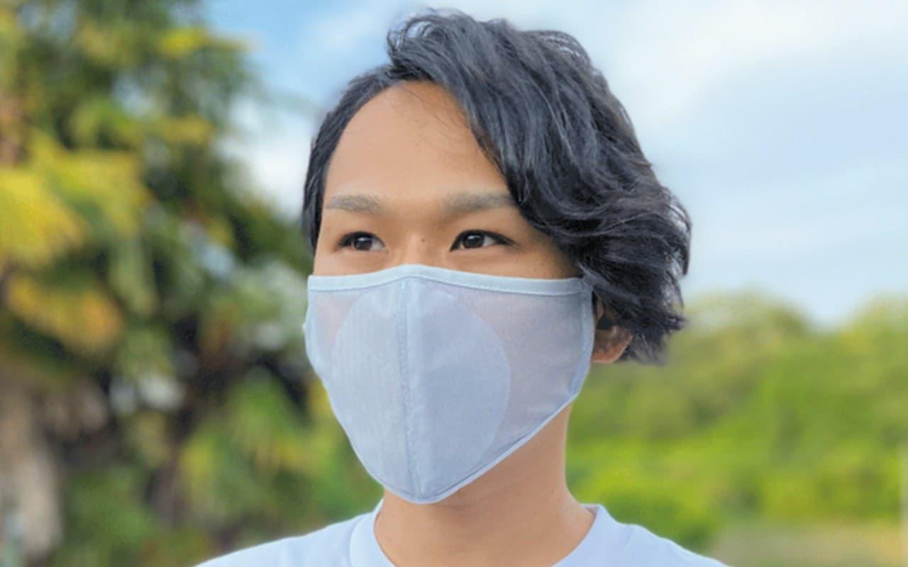 一番涼しい夏マスク?透けてるマスク「涼マスク」