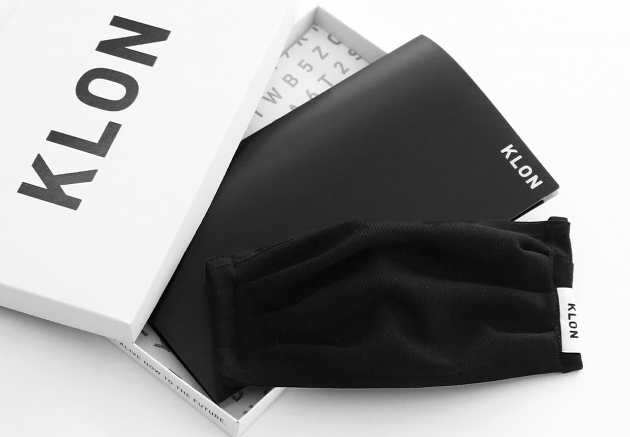 ファッションブランドKLONから高機能性ファッションマスク「KLON Ag+ MASK」発売 - 銀イオン加工繊維を使用