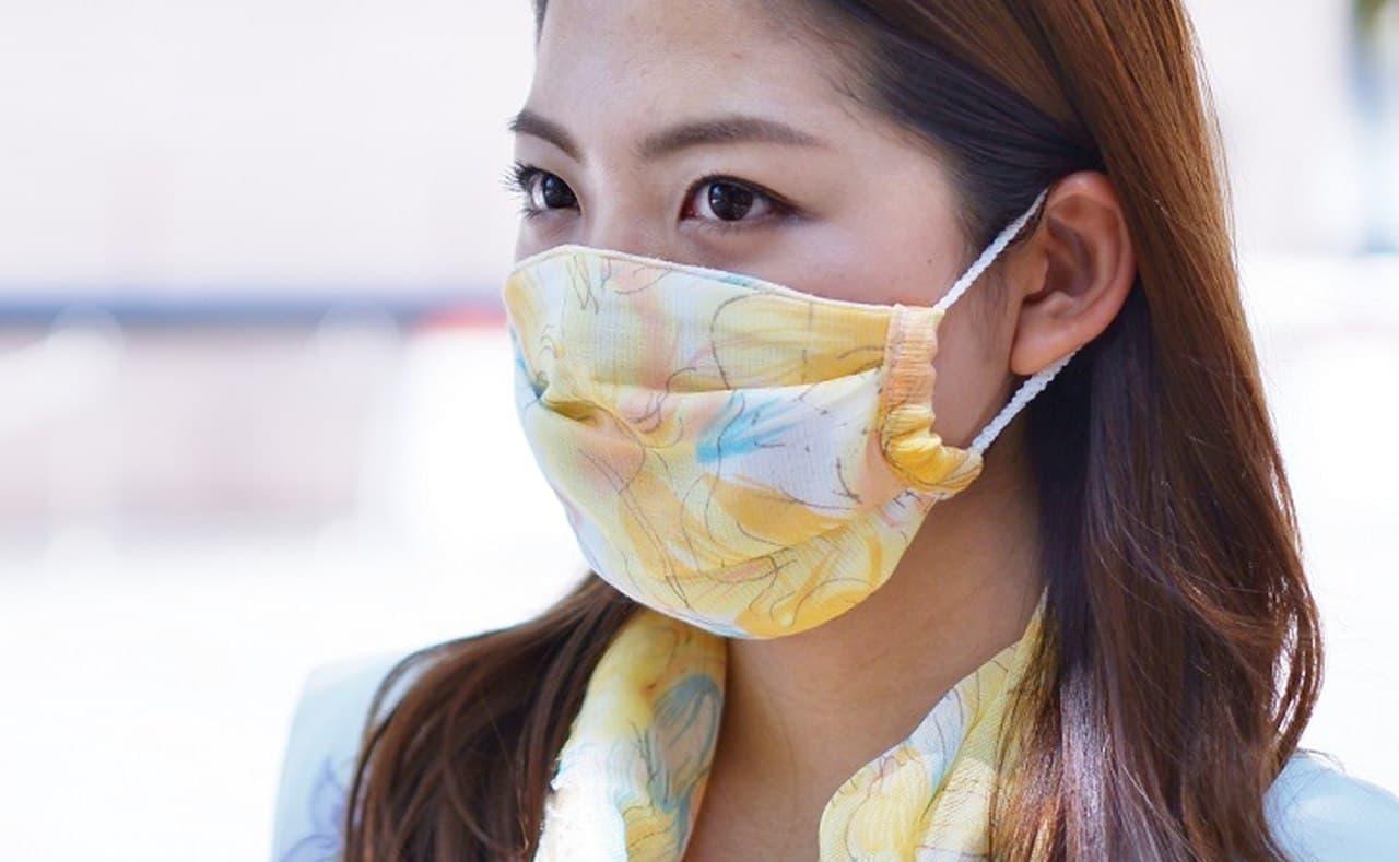 銀イオンと柿渋タンニンで除菌するマスク「マクリア マスク」