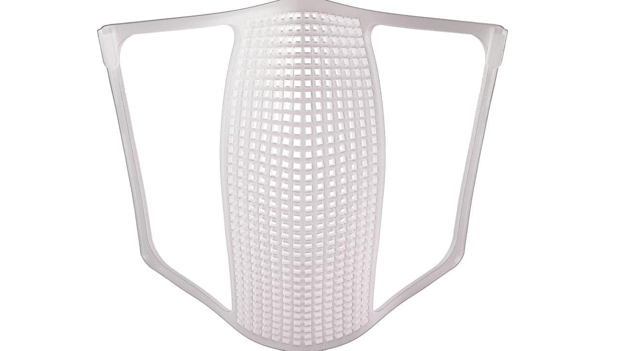 マスク熱中症対策に「立体インナー:柔らかフレーム Sサイズ」発売 ― マスクと口元の間に空間をつくる