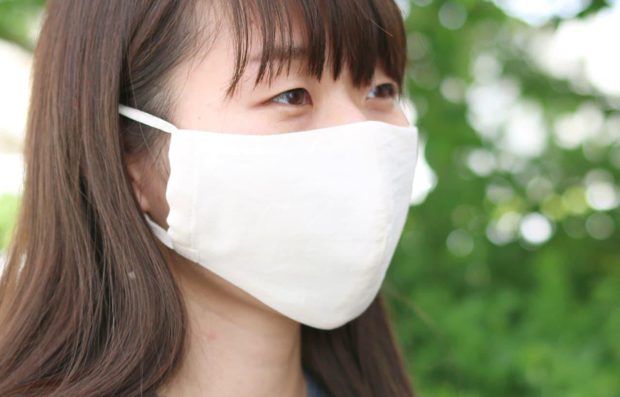 中川政七商店の夏マスク「天然素材のさらさら肌ケアマスク」