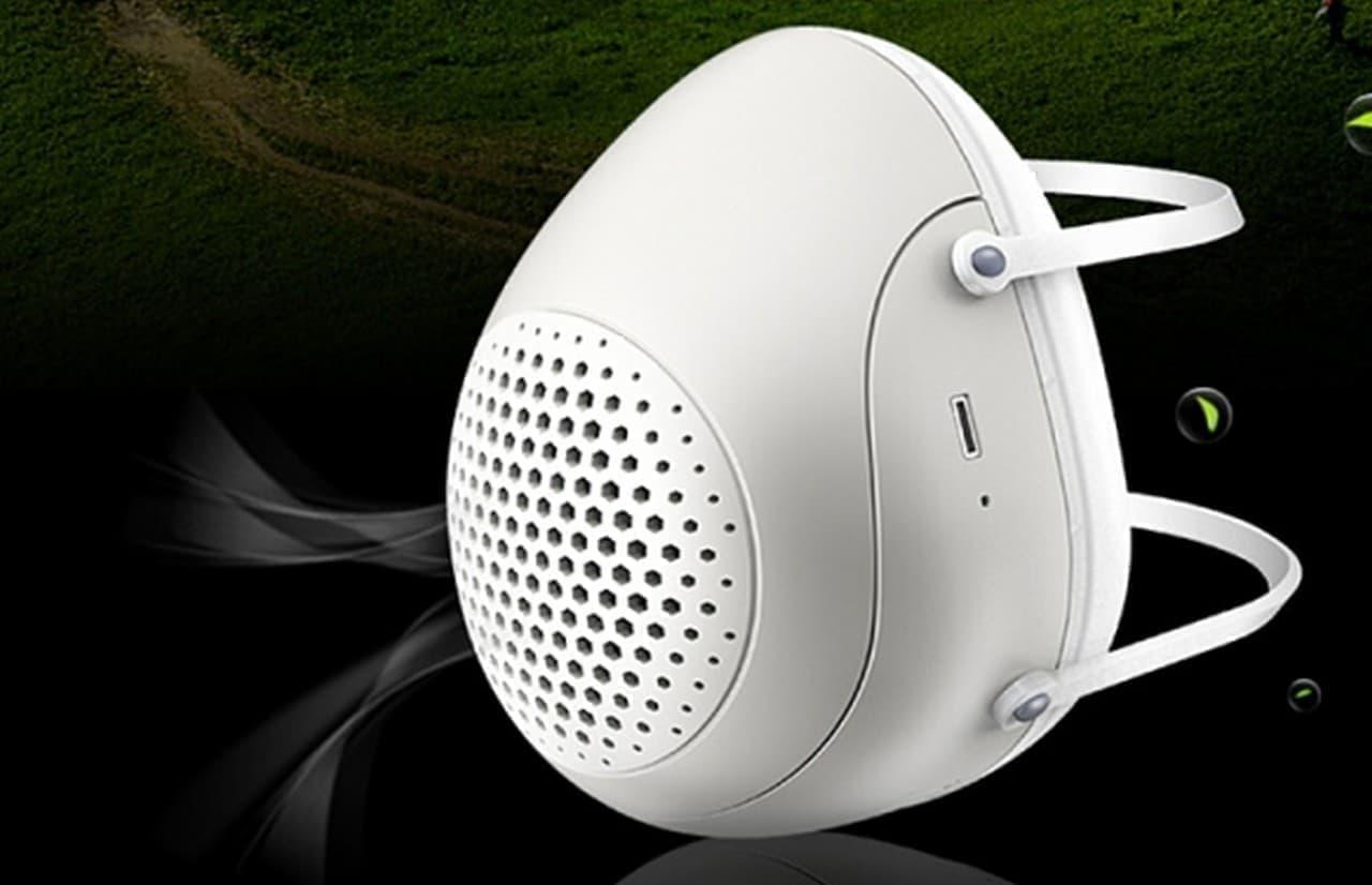 ファン内蔵で呼吸が楽なマスク ― PM2.5もカットする「ナノブリーズ」
