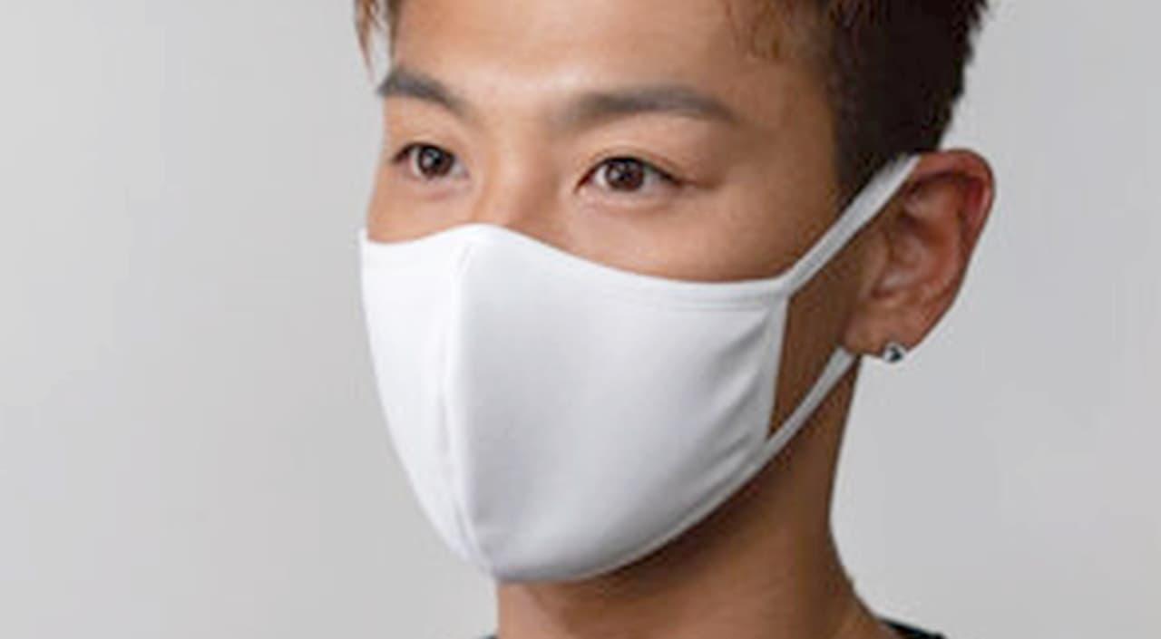 猛暑に向けた夏マスク 遮熱生地を使った「-3.8℃℃ひんやり夏マスク」