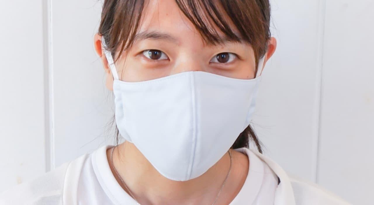 接触冷感素材SOLDEFENDERを使用した夏マスク「接触冷感 夏用マスク」オーガニックコットンの布ごこちから発売