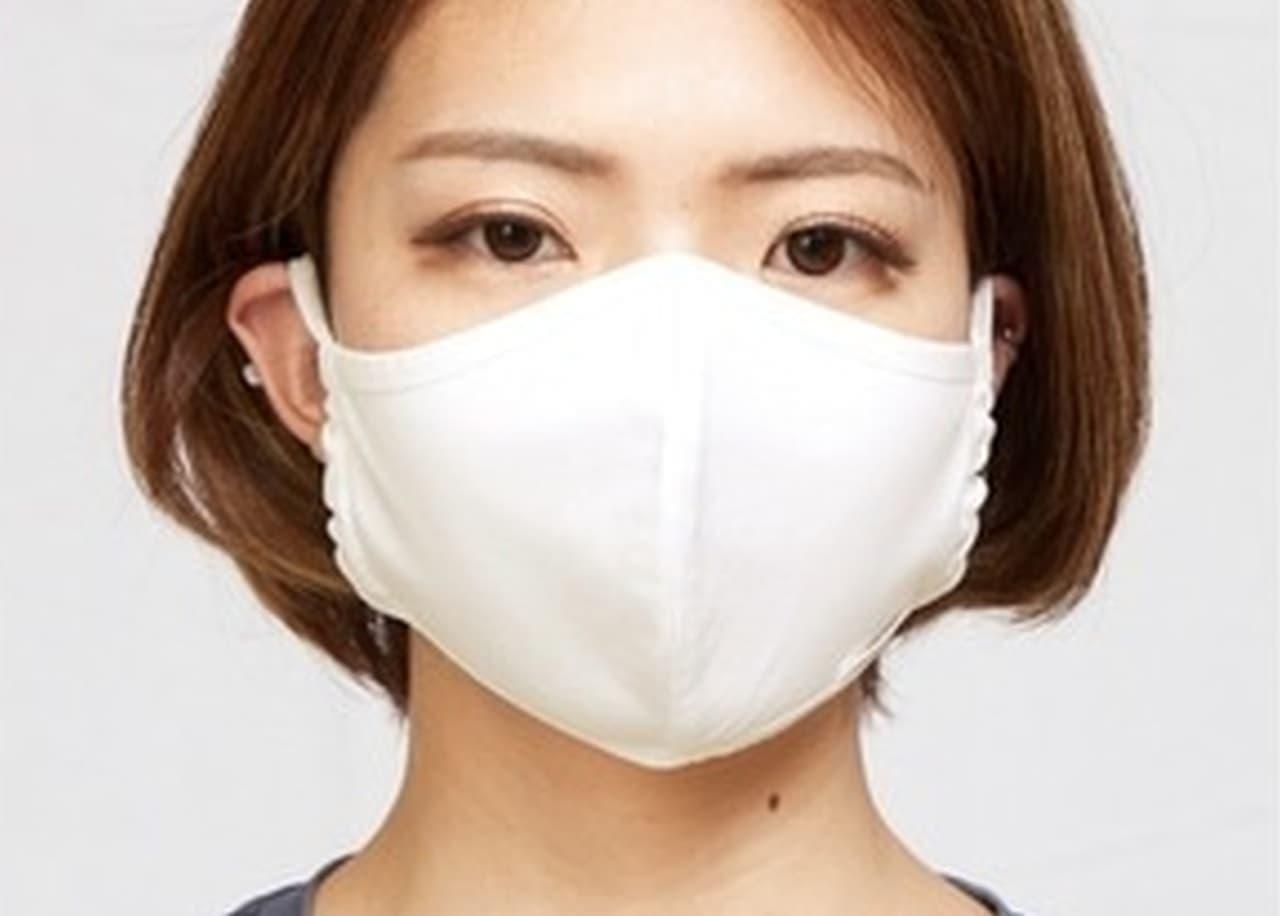 冷やしマスク始めました! 綿100%の接触冷感素材「氷」を使った「アイスマスク」がMakuakeに