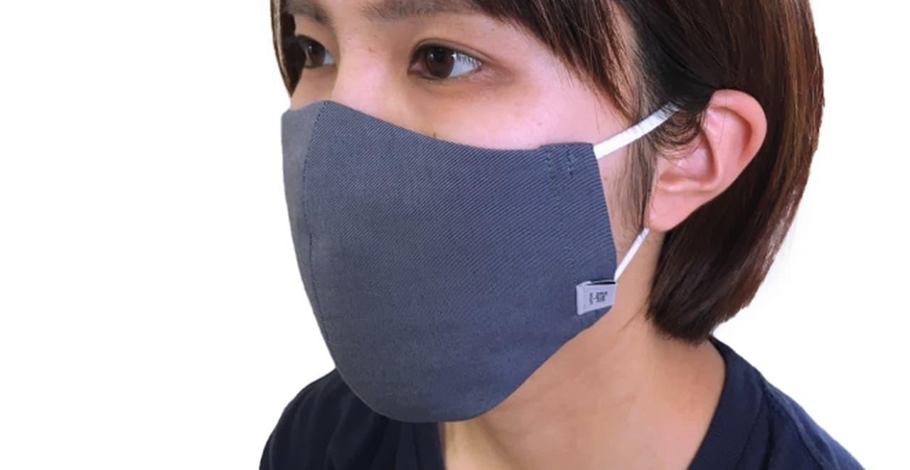 「夏用!Ripo冷感ハイブリットマスク」が岡山デニムのリポトレンタアンニから