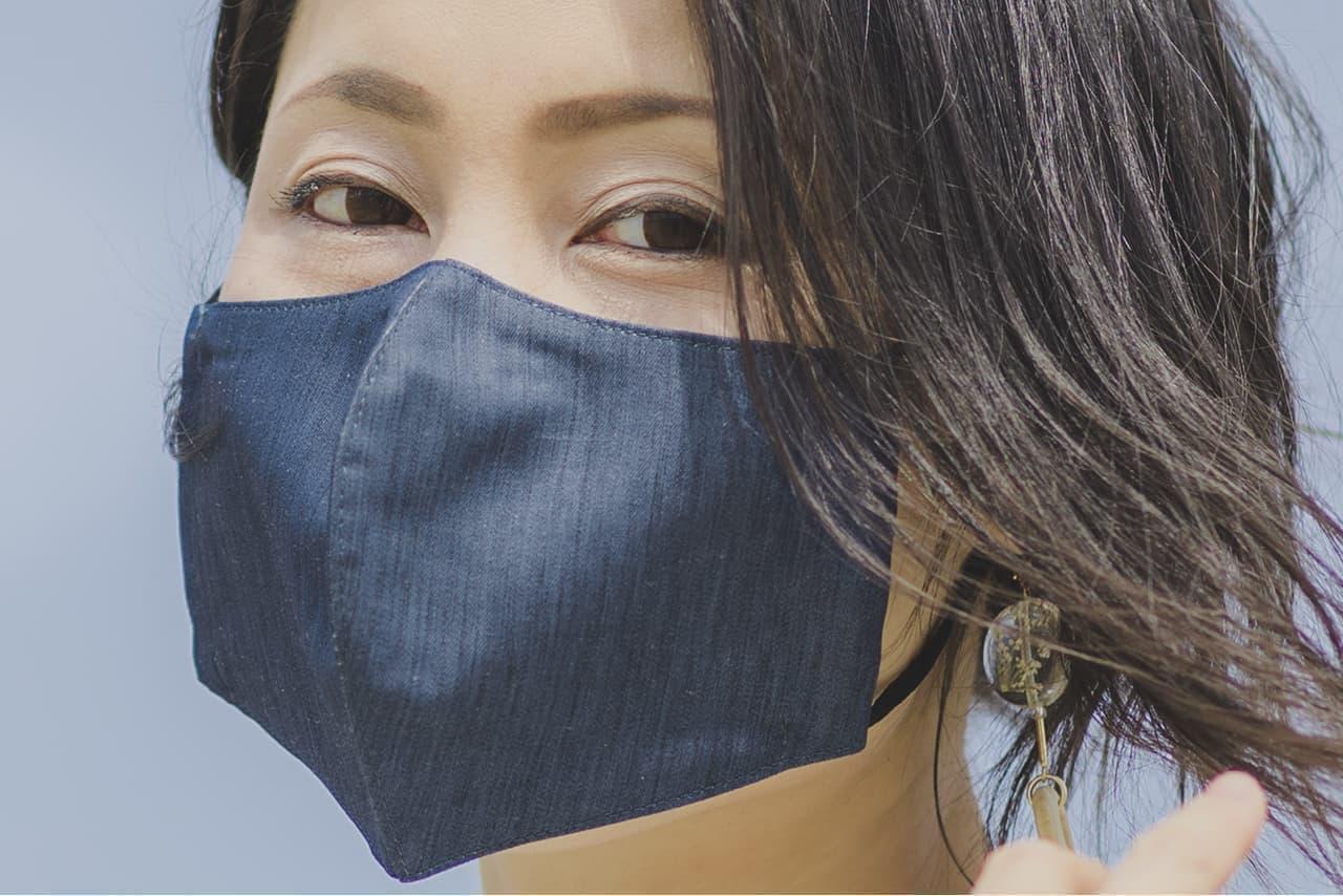テクシる「ひんやり麻マスク」