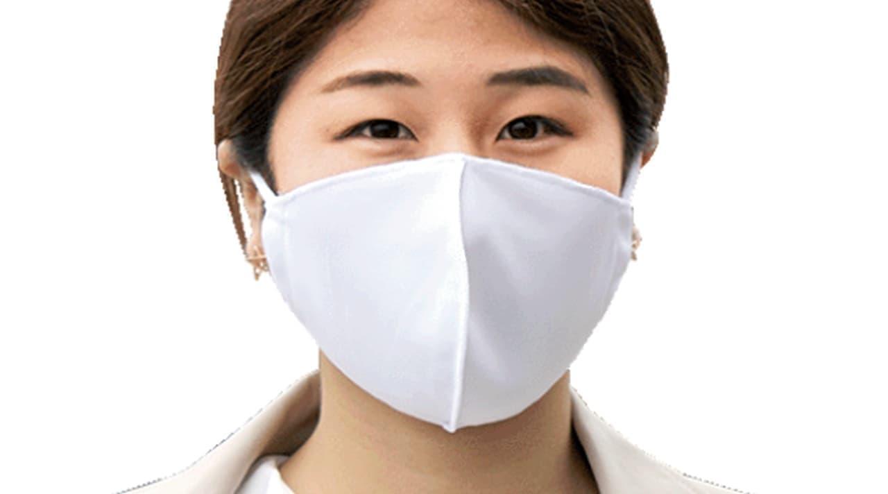 水着素材だから蒸れにくい&すぐに乾く 「水着素材マスク」発売