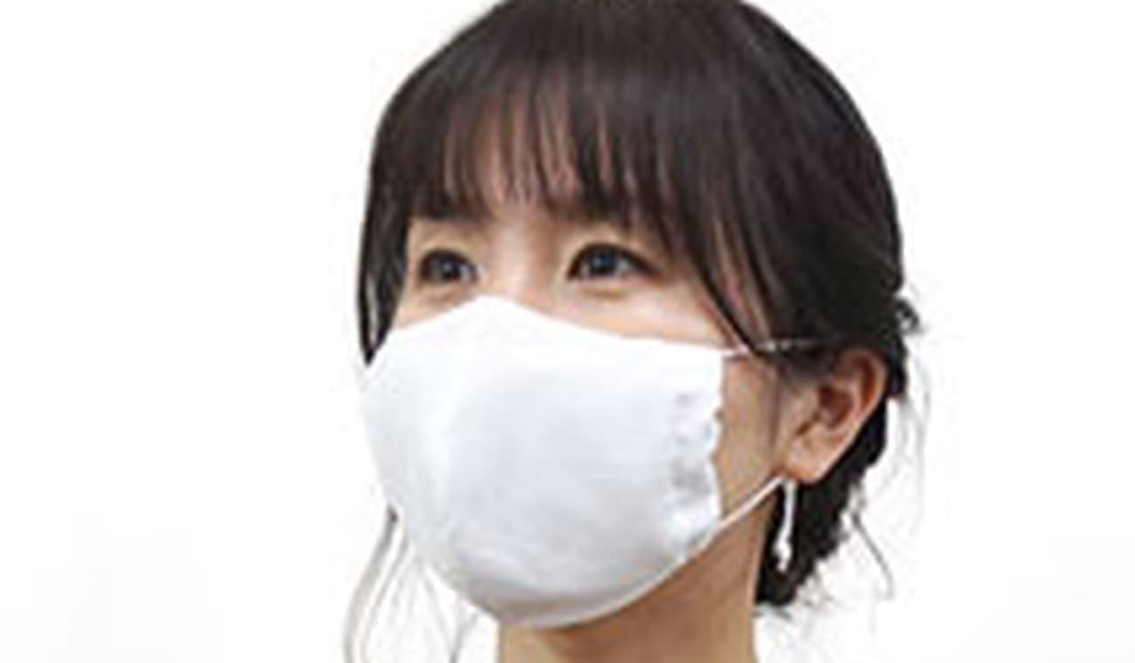 熱中症対策に! 保冷剤付きマスク「冷感夏マスクwith特製冷却ジェル」