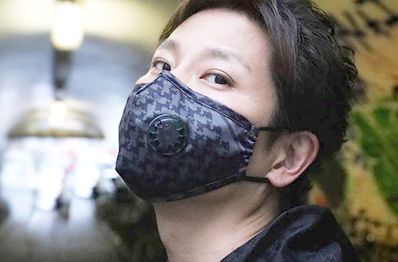 ミリタリーテイストのマスク「FR1レスピレーターマスク」 ― KN95品質の活性炭フィルター付属
