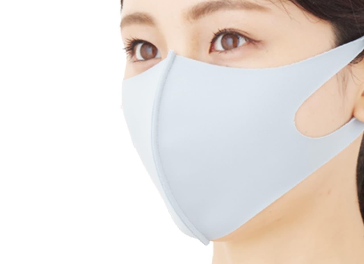 接触冷感素材の夏用マスク「東京マウスウェア」 ― 5色のカラバリでどんな服にも合う