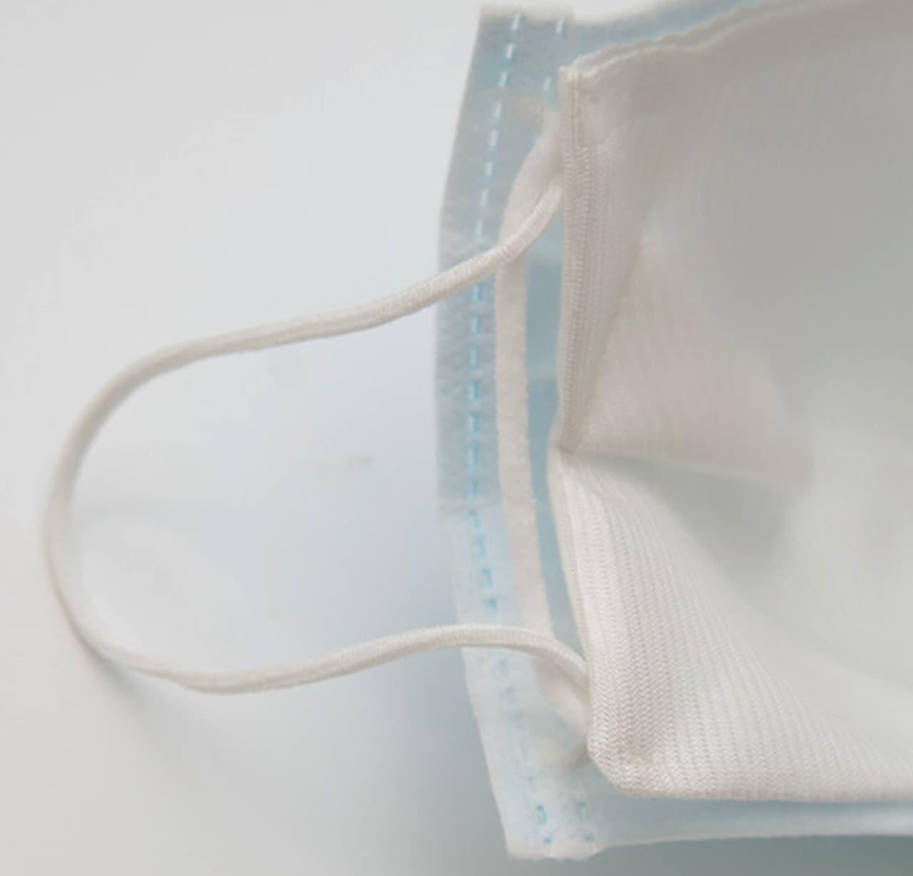 不織布マスクをもっと快適に!シルク100%でマスク蒸れを低減する「スマートシルクインナーマスク」