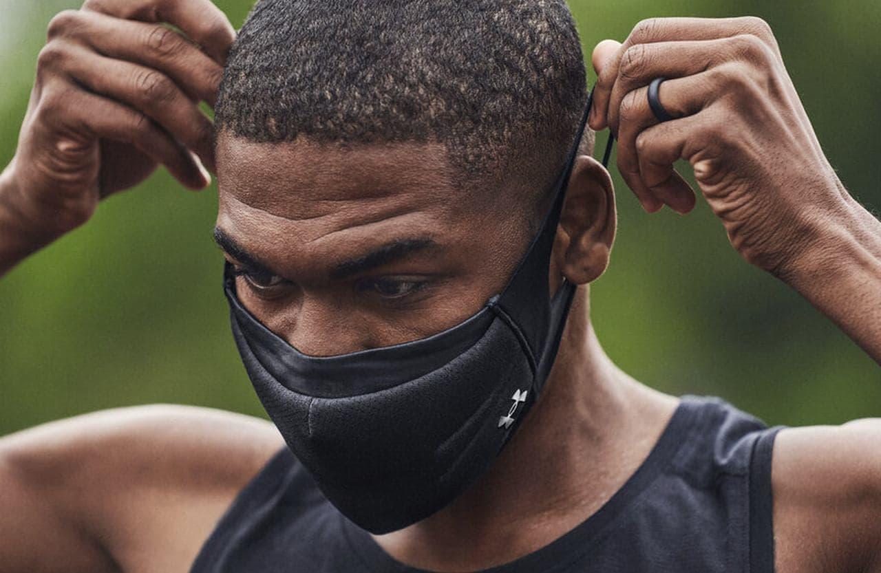 アンダーアーマーから接触冷感の「UAスポーツマスク」 ― アスリートのためのパフォーマンスマスク