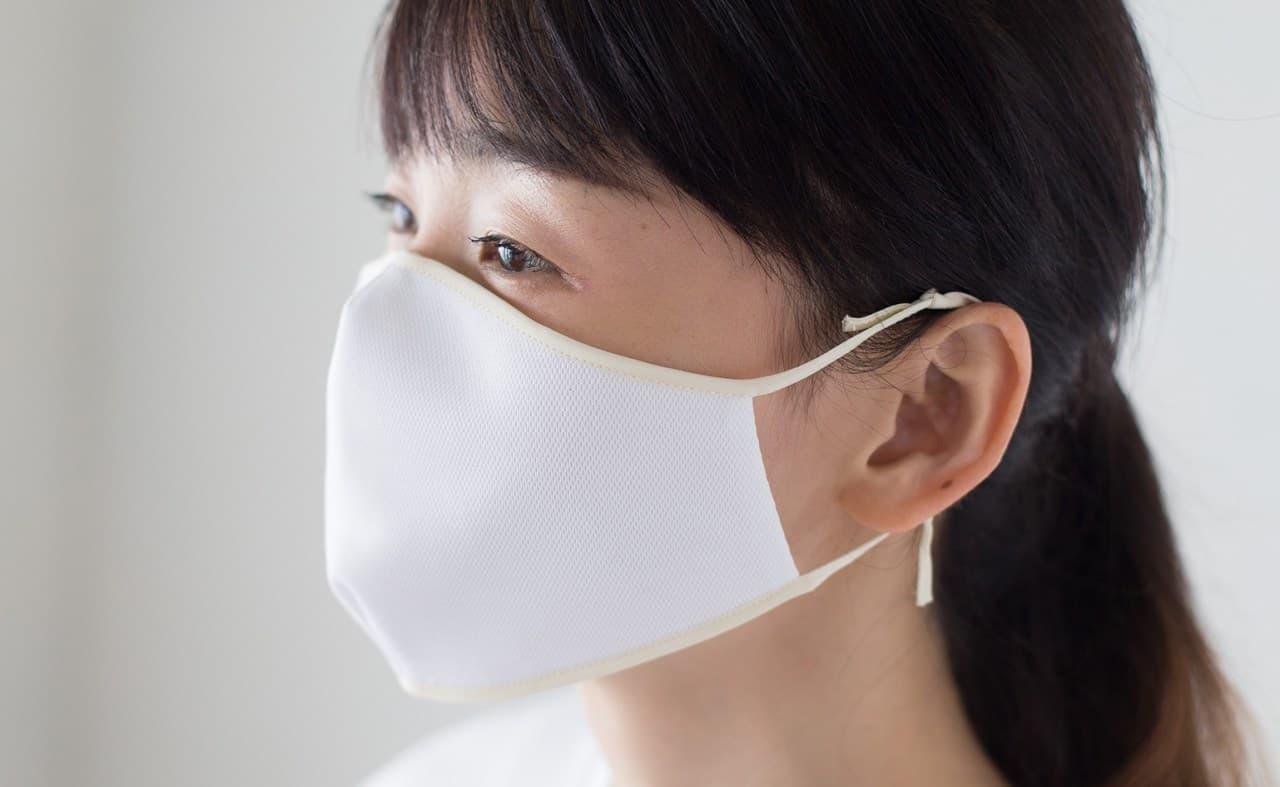 洗濯機OK! ― アメリカ生まれの最新クール素材を使用した夏マスク「COOLIST(クーリスト)」