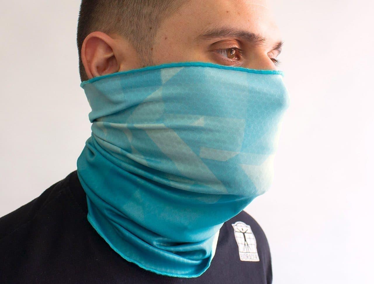 自転車ウェアメーカーが作った夏用スポーツマスク発売 - 太陽の熱と紫外線を遮断する涼感素材「coldblack」採用
