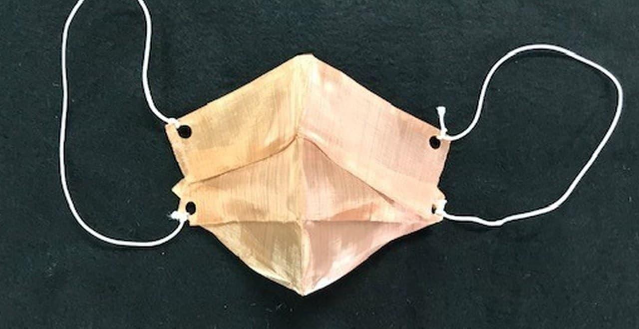 銅の折り紙「おりあみ/ORIAMI」にマスク作成に適した新サイズ登場