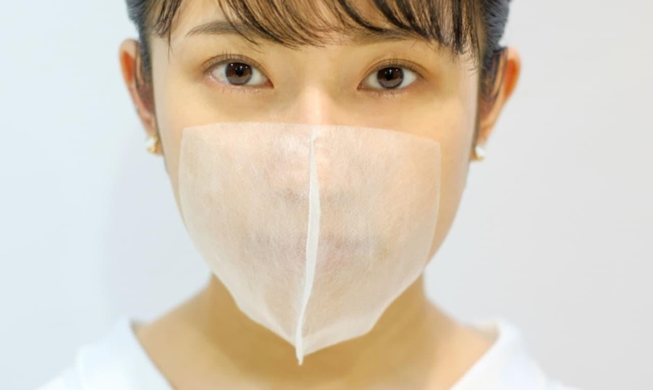 貼るマスク「salone de mask(サロン・で・マスク)」発売 - 耳ヒモがないからヘアカットの邪魔にならない
