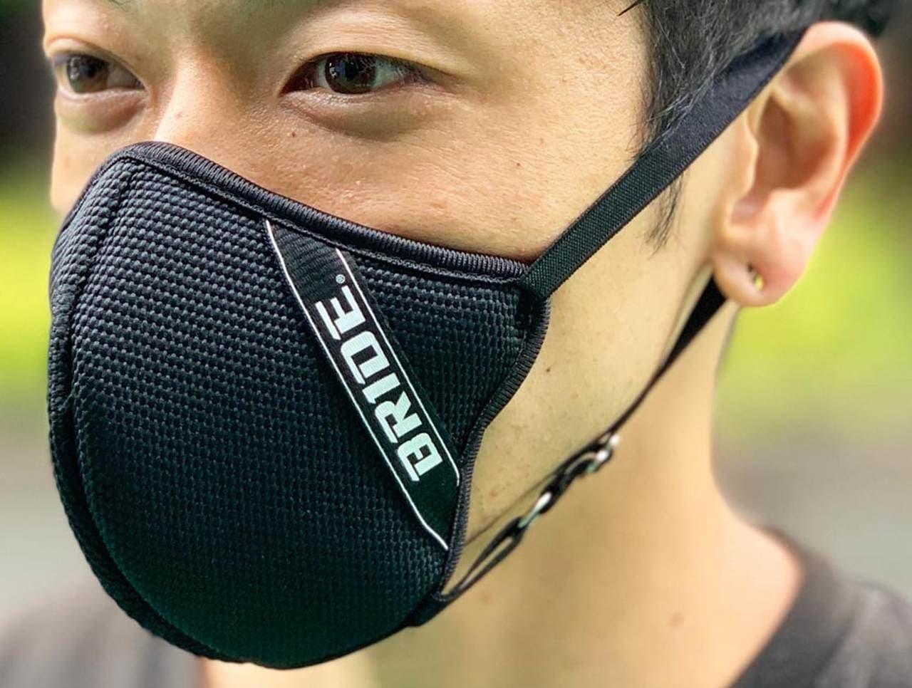 自動車レーシングシートのBRIDEが「BR3Dマスク」発売
