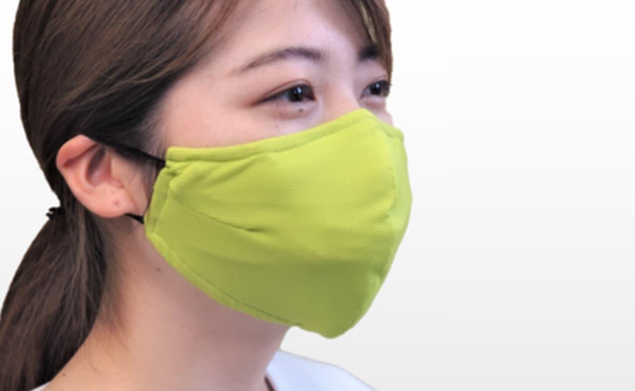 登山用ハイテク素材を使用したスポーツマスク「Re.Breass(リブレス)」 - マスクが密着しない「ブレスフリーフレーム」装備
