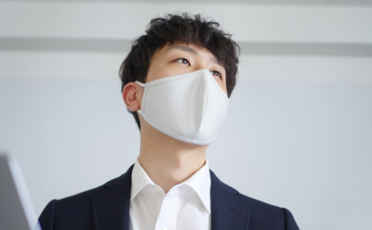 ビジネスパーソン向けのマスク「TENTIAL MASK」 - シワになりにくいのでビジネスシーンで好印象に
