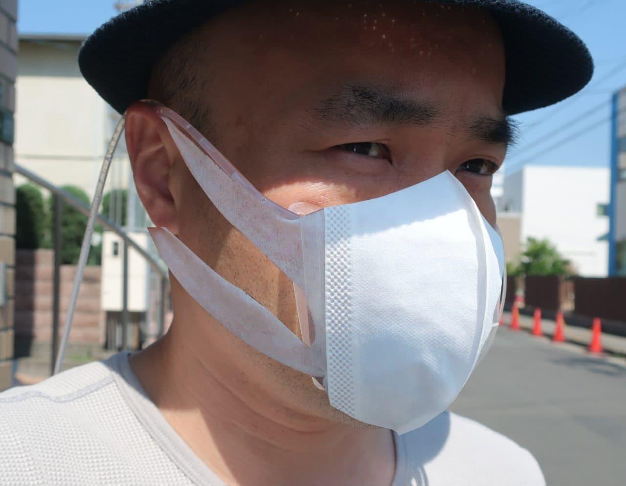 循環する水で冷やすマスク「マスクエアコン」