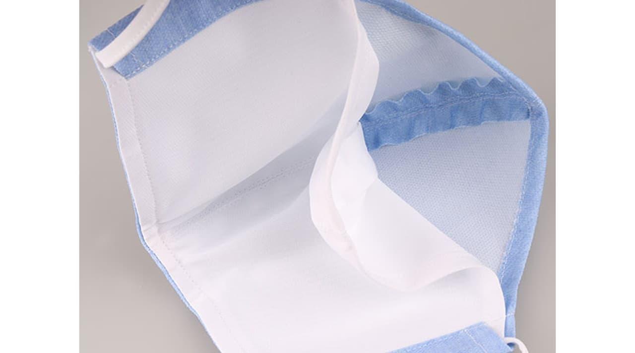 紳士服のコナカ 接触冷感マスク「COOL MOVE 洗える立体マスク」発売 - 洗濯機で洗える!
