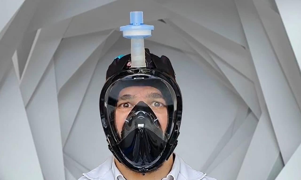 口と鼻だけじゃない目も保護するマスク「Covu Mask」