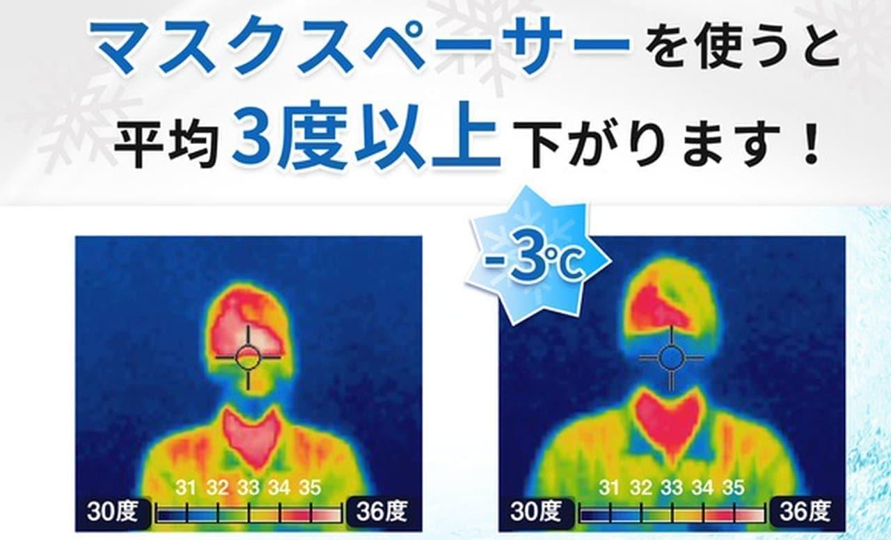 マスクを顔に貼り付けない「マスクスペーサー」登場 単純だけど効果は高いかも