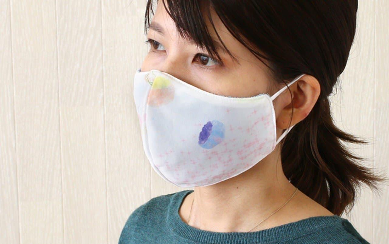 カラーも涼し気な冷感マスク tesoro冷感マスク