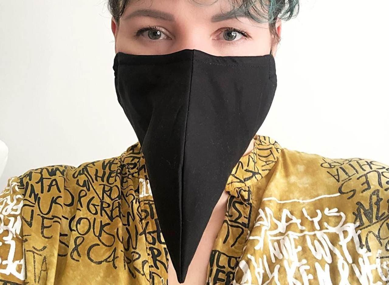 ペスト医師をモチーフにしたマスク「plague doctor I」