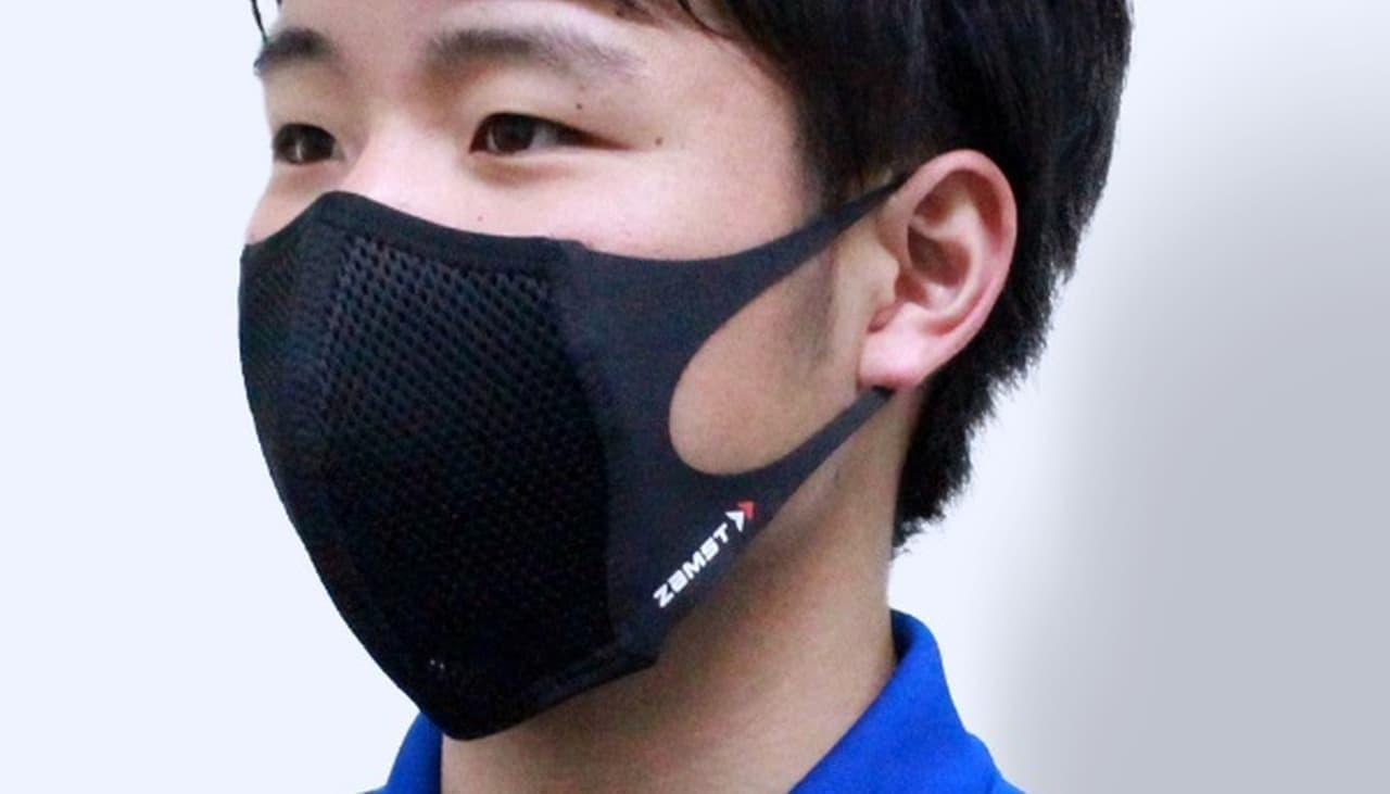 通気性は不織布マスクの約10倍!スポーツ用マウスカバー「ザムスト マウスカバー」