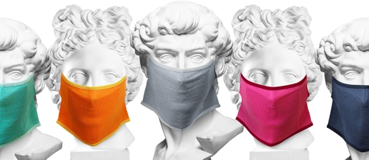 包帯マスク「HOHTAI MASK」に新色5色追加 - 包帯生地で息苦しさを軽減