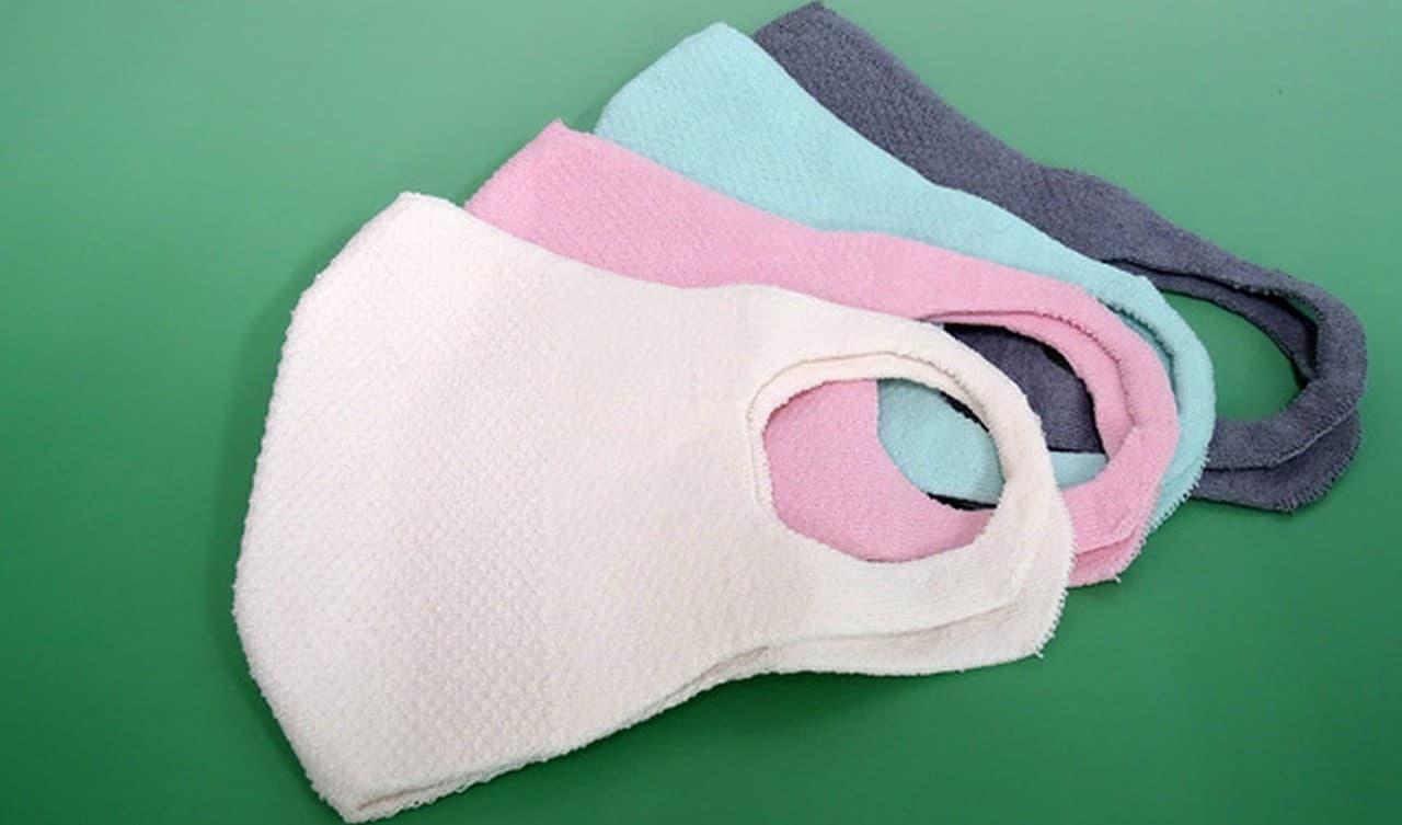日本製和紙マスク発売 - 不織布マスクよりも約3度涼しい